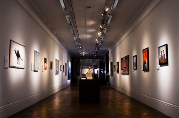 A picture of the Alternative Visions exhibition in Bristol Museum