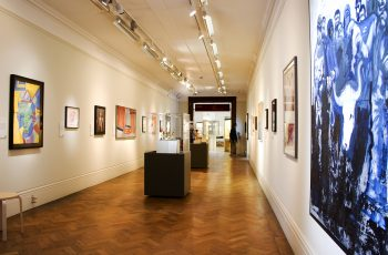 A photo of the Alternative Visions Exhibition at Bristol Museum