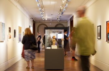 the Alternative Visions Exhibition at Bristol Museum