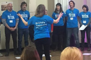 Bristol Recovery Choir singing