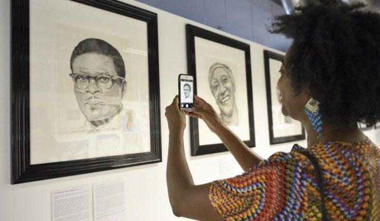 Arts Council Image - Seven Saints of St Pauls (Iconic Black Bristolians Project) Artist Michele Curtis