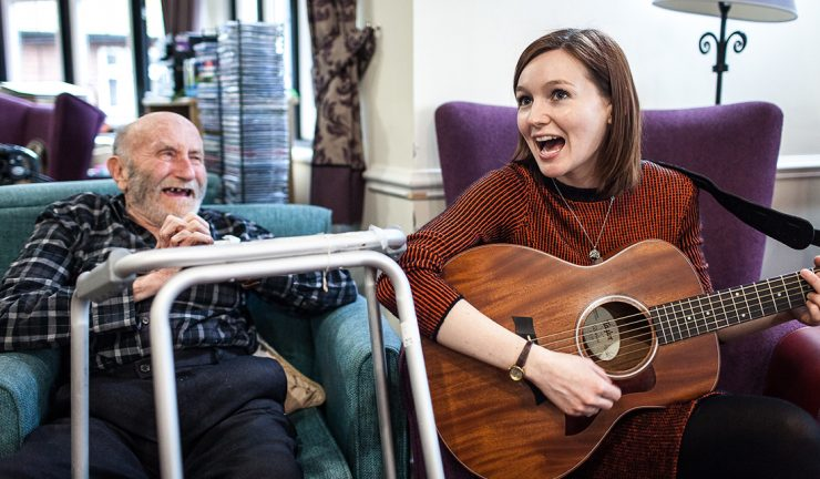 Live Music Now Image in Care Home