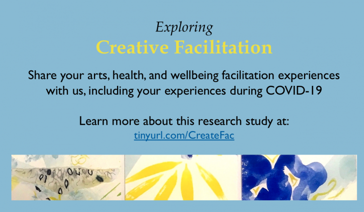 Recruiting creative facilitators to a study on practice experiences