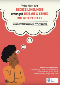 Reducing loneliness among migrant and ethnic minority people: a participatory evidence synthesis