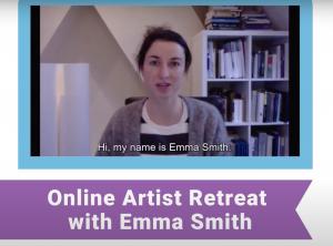 Online Artist Retreat with Emma Smith 2021