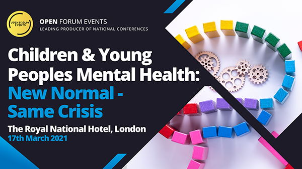 Children And Young People's Mental Health: New Normal - Same Crisis