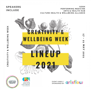 Creativity and Wellbeing Week 2021 Image