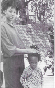 Vanley Burke, photos 'Caribbean food and diets' by Jenny Douglas, Sandwell public health research reports, no 1, 1989.