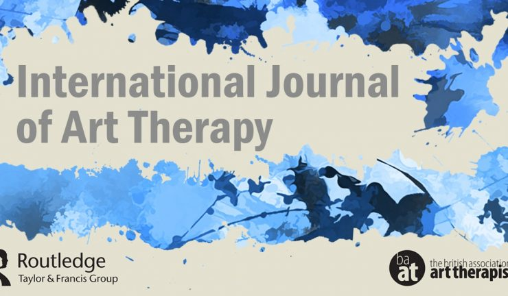 The International Journal of Art Therapy Logo